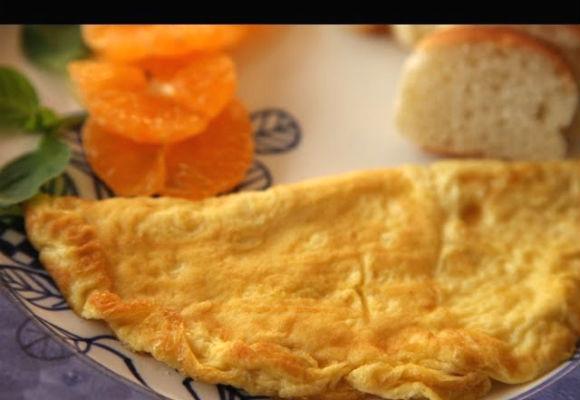 Plain White Omelette