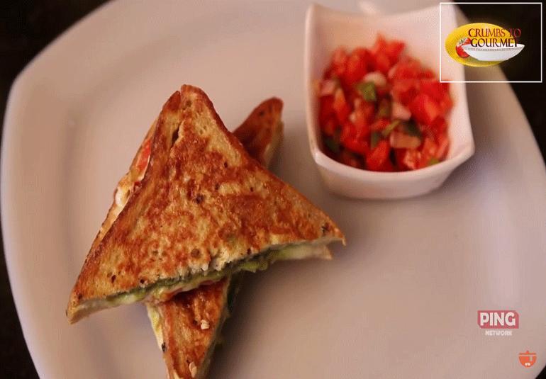 Cheese Salami Sandwich
