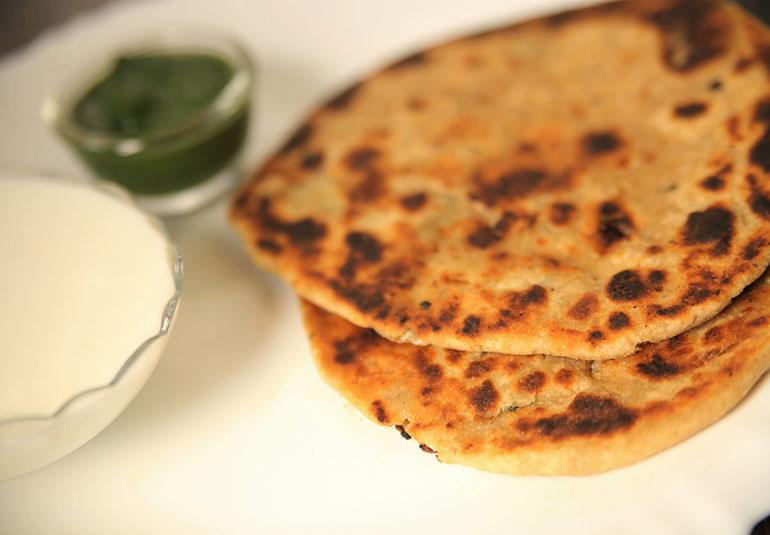 Indian Mooli Paratha