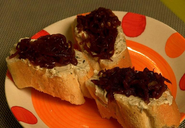 Caramalized Onion Jam by Ruchira
