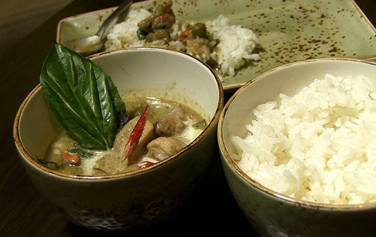 Chicken in Thai Green Curry