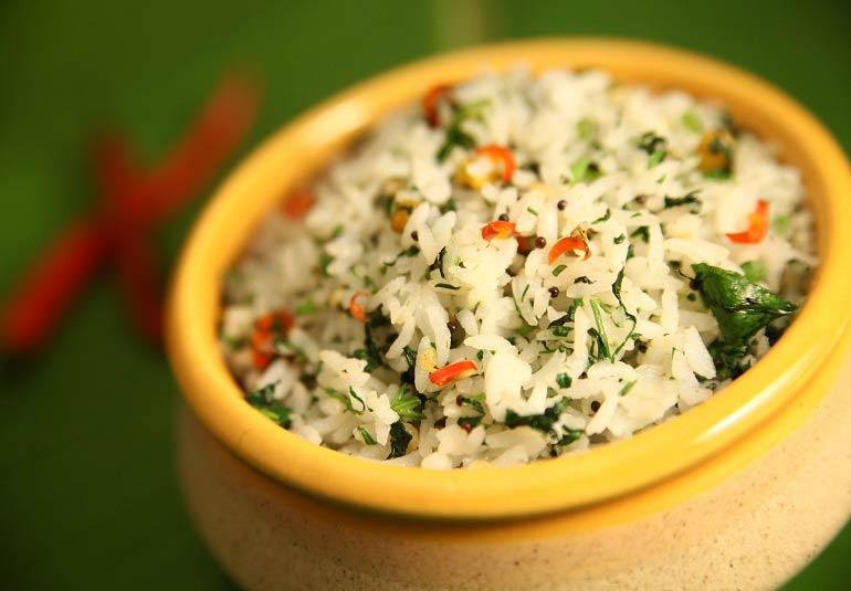Coriander Rice By Preetha