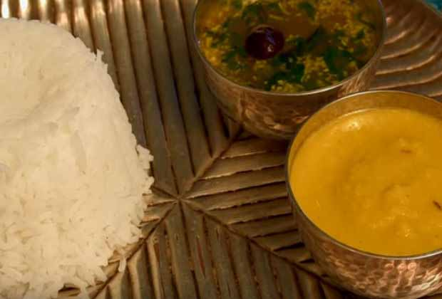 Lachko Dal (Split Pigeon Gram Curry) By Asha Khatau