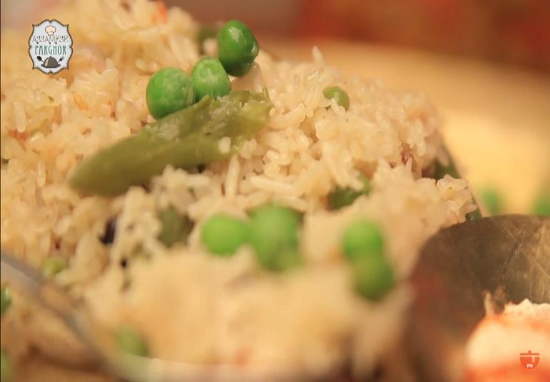 Vegetable Pulao (Rice) By Gitika