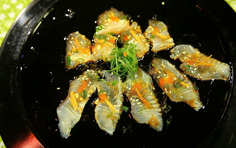 Tempered Sashimi By Shreeya
