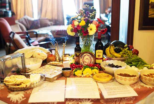 Tales of the Parsi Haft Seen Table