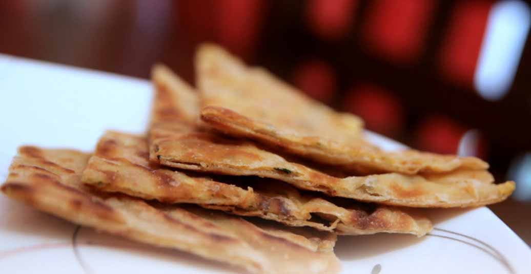 How to Make Omelette Paratha by Archana