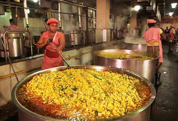 Now, get a peek inside Indias mega kitchens