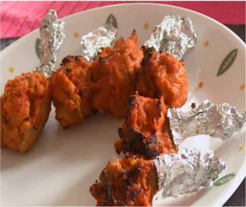 How To Make Tandoori Chicken Lollipop by Archana