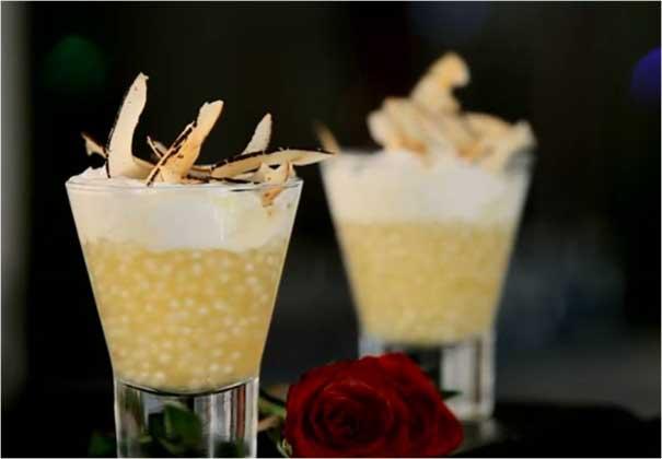 How to Make Lemon Sago Pudding by Chef Michael