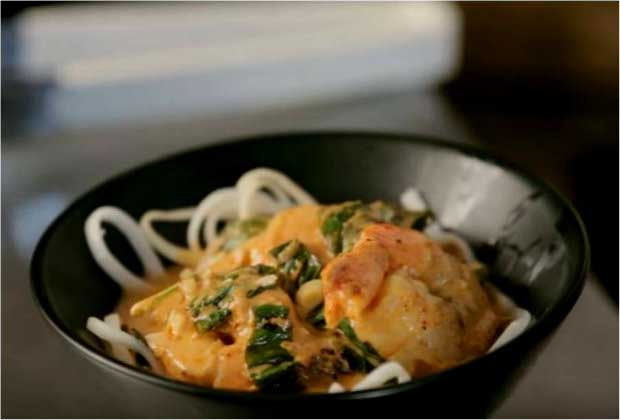 How to Make Prawns and Noodle Soup by Chef Pankaj