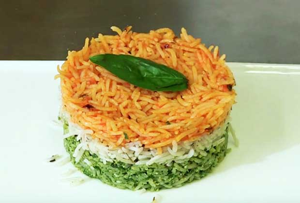 Recipe: Celebrate Independence Day With Tri-Coloured Rice