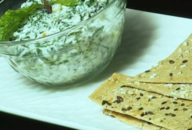 Recipe: Spinach Yoghurt Dip For Your Next House Party