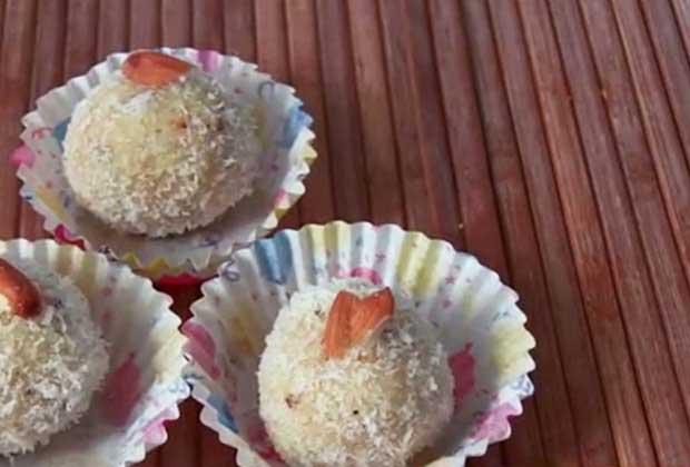 Ganpati Spl Recipe: No-Cook Coconut Ladoos