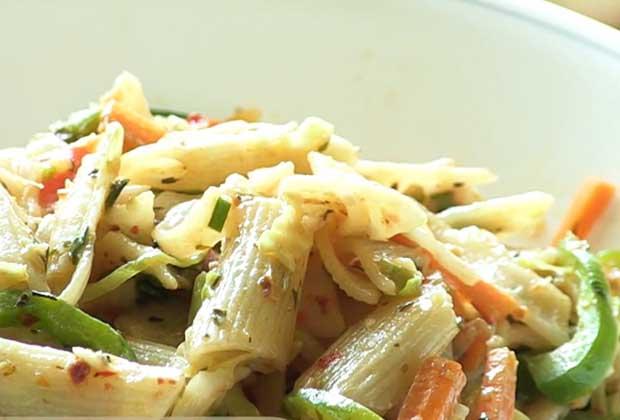 Recipe: Pasta With A Desi Twist