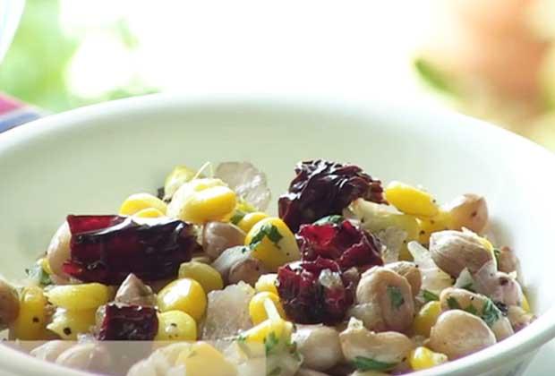 Recipe: Snack On Chatpata Peanut Corn