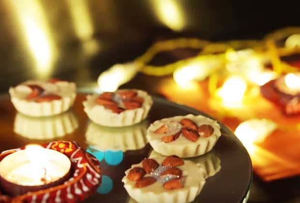 15-Minute White Chocolate Almond Cups