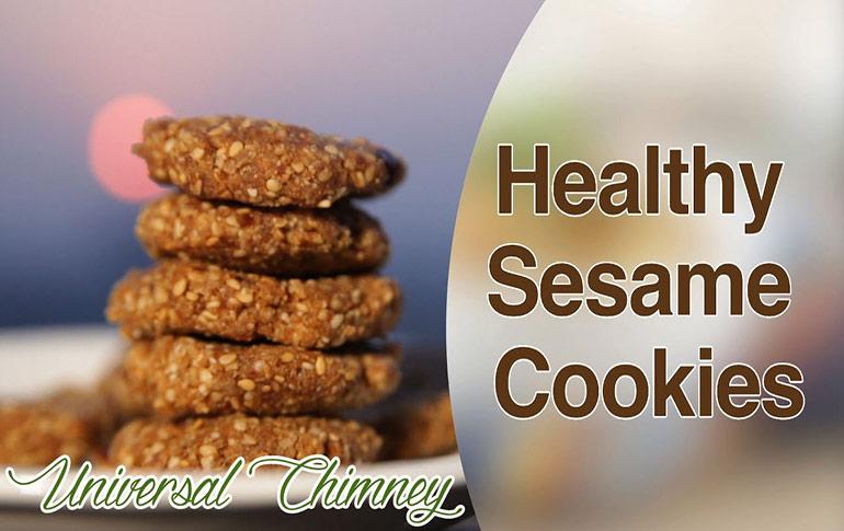 Recipe: Binge On Sugar-Free Sesame Cookies