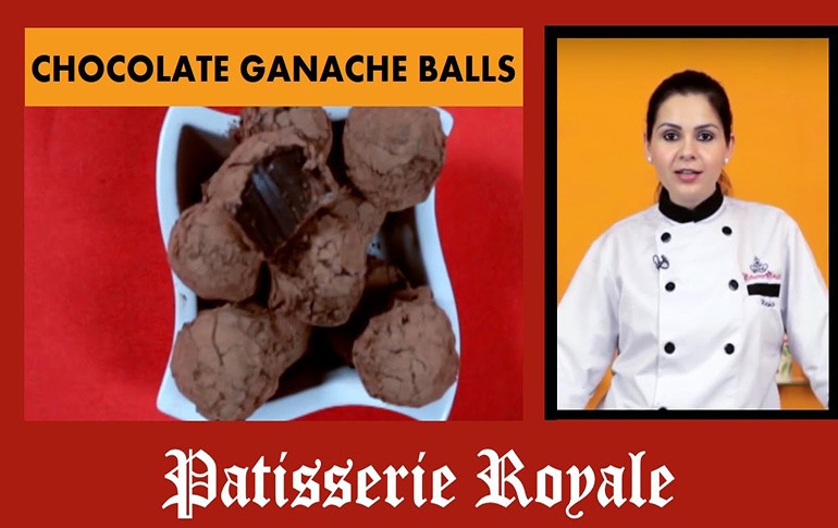 Make Chocolate Ganache Balls at Home!