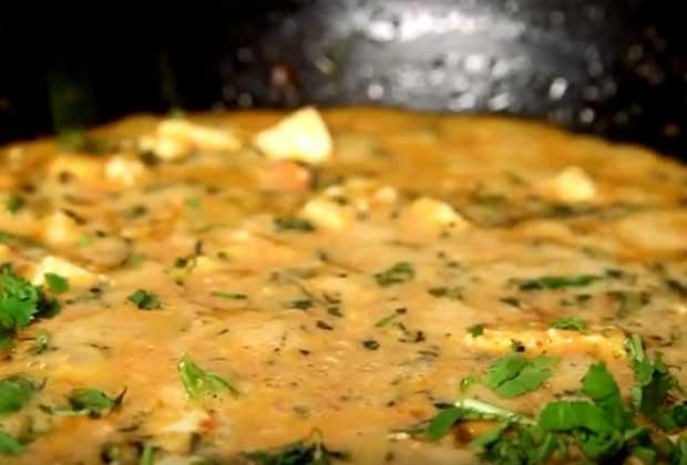 Veggie Delight: Cream Paneer