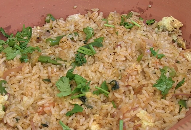 A Quick Egg Fried Rice