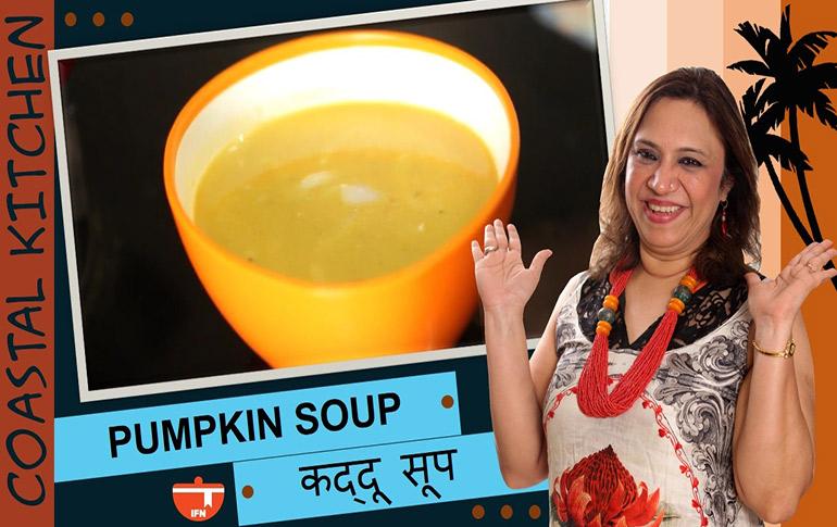 Seafood Pumpkin Soup