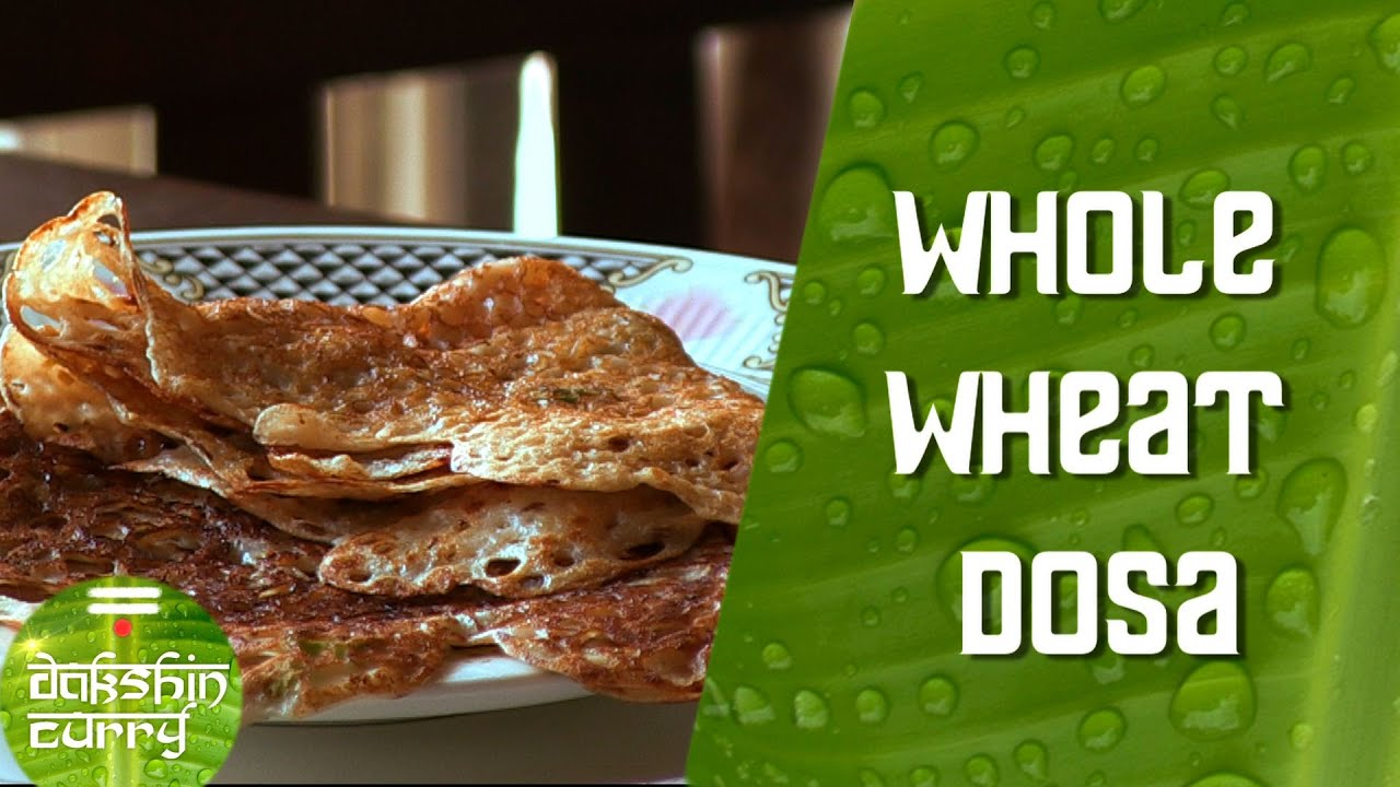 Instant Whole Wheat Dosa