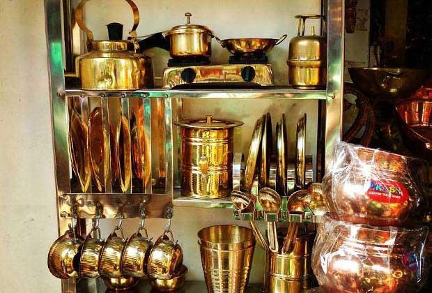 Inside Punes Tulshi Baug Market