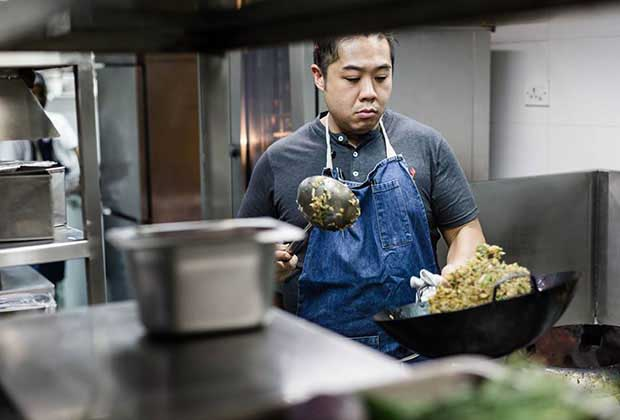 Chef Kelvin Cheung: I Am Practicing To Roll A Chapaati