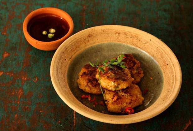 Clam Cutlets With A Thai Twist