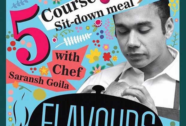 Saransh Goila Will Now Serve You Food, Blindfolded!