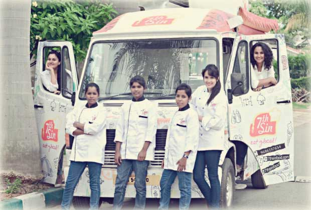 Power Puff Girls: Bangalores Seventh Sin Is Asias First All-Women Food Truck