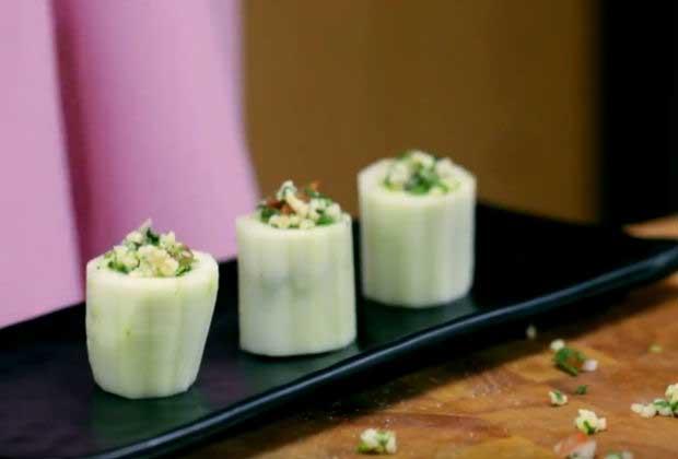 Healthy Cucumber & Feta Salad