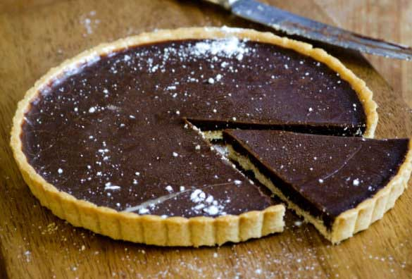DIY Food: No-Bake Chocolate Tart