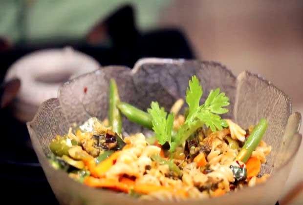 Fusion Cooking: Patra Pasta Salad