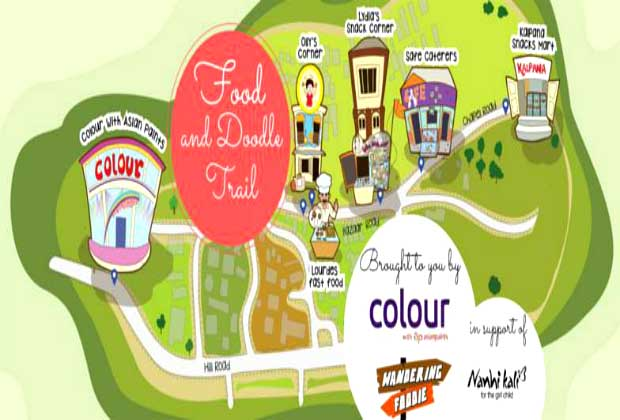 Join This Food & Doodle Trail For A Special Cause
