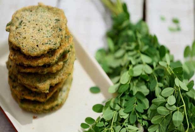 Weekend Breakfast: Moringa Leaf Adai