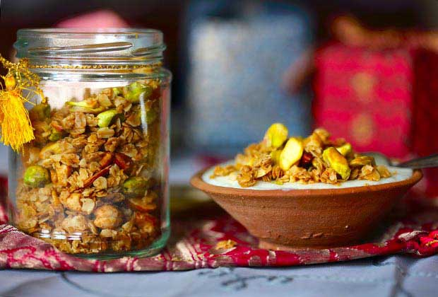 Take A Break From Mithais. Gift This Festive Granola Instead
