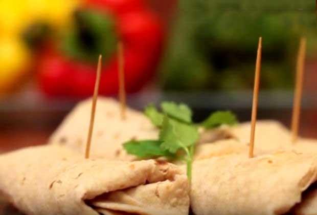 Fusion Food: Indian Burrito Wrap