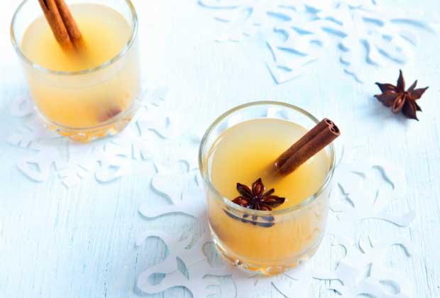 DIY Food: Thanksgiving Spiced Ginger Mocktail