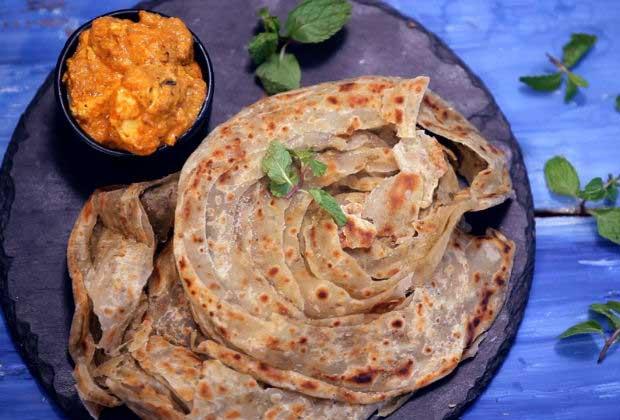 Punjabi Recipe: Pudina Lachha Paratha