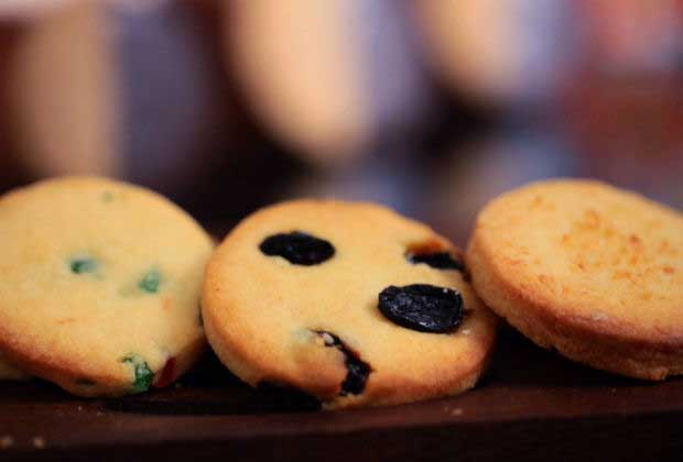 3 Way Cookies: Tutti Frutti, Ginger & Coconut