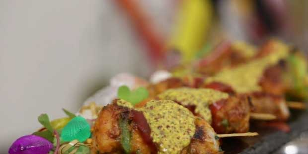 A Perfect New Years Party Appetiser: Chicken Shashlik