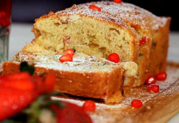 Tea-Time Dry Fruit Cake
