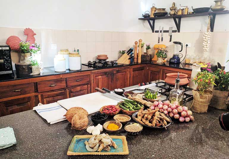 IFN Photo Of The Day: Behind The Scene From A Goan Kitchen