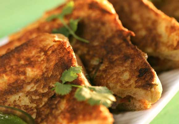 Masala French Toast For Breakfast