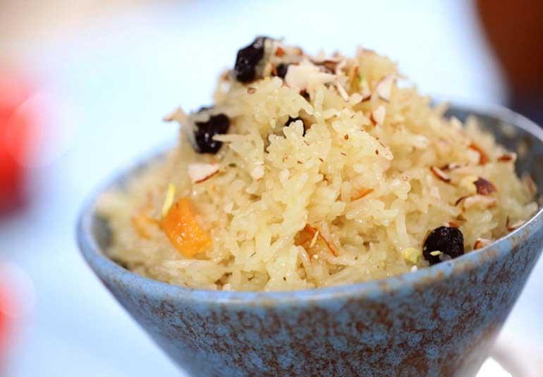 Sindhi Holi Recipe: Tahiri (Sweet Rice)