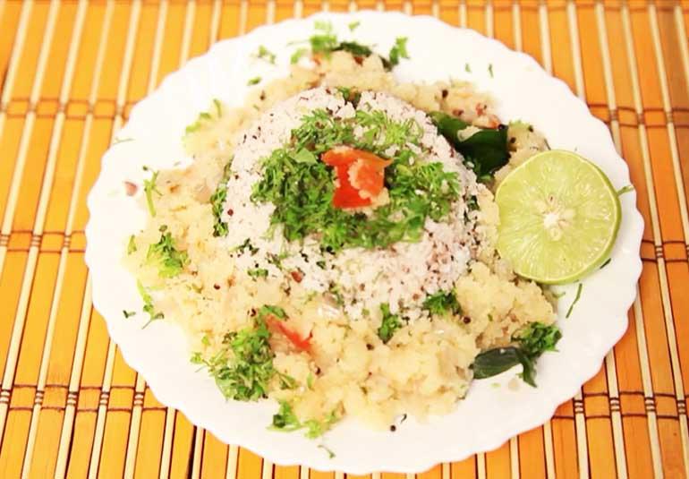 Quick Indian Breakfast: Upma