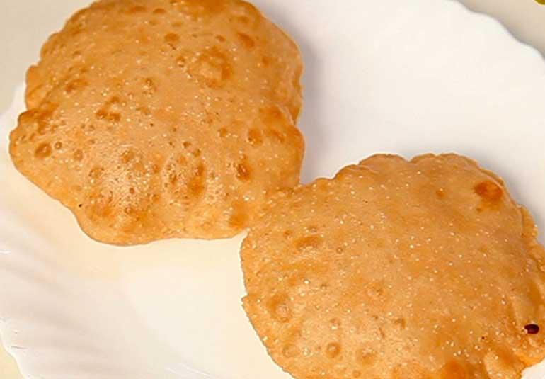 Homemade Puri