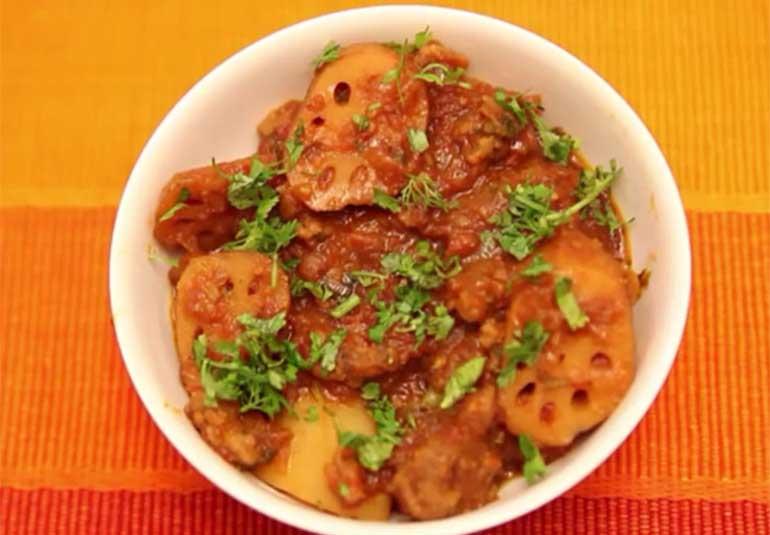 Sindhi Bhee Aloo Wadi